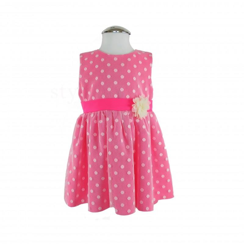 Bodkované detské šaty - detská móda - styl4you  edca3425b87