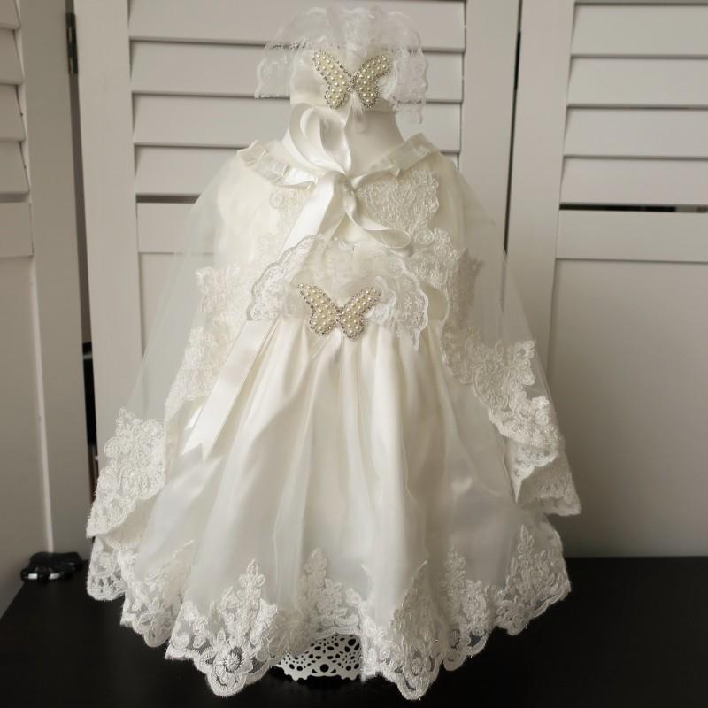 5921727ff56c Exkluzívne šaty na krst - detské šaty na krst - Komplety na krst