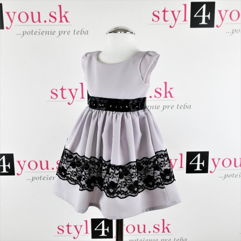 Detské spoločenské šaty - originálne prevedenie šiat - styl4you  69a56caf99b