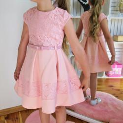 Moderné oblečenie pre dievčatá - sviatočné šaty - móda styl4you  9c4bbbdb8da