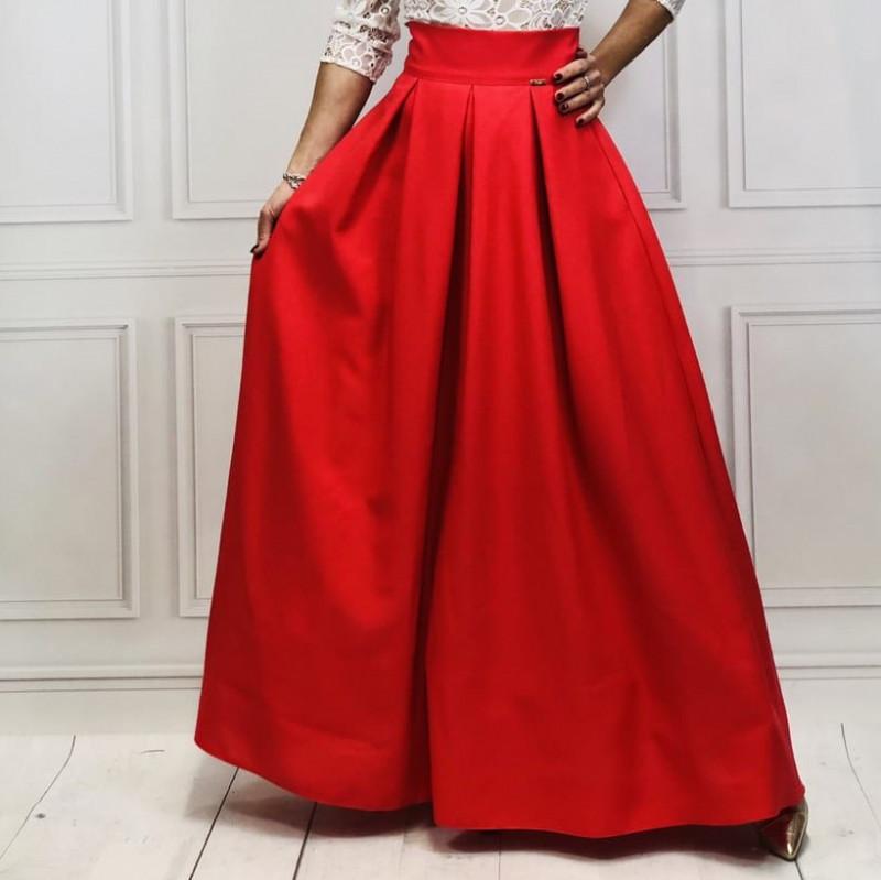 fb0af463abff Maxi sukňa s vreckami - nadčasová elegancia - styl4you